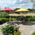 Patio Dining Area Horse Country Carriage Tours